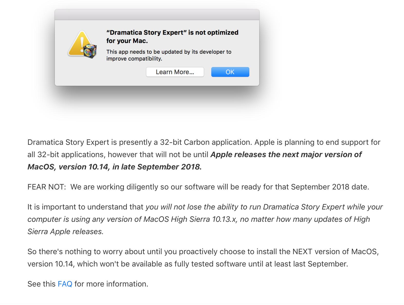 dramatica story expert 5 3 update for mac technology discuss